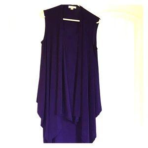 Dress Barn Eggplant Dress